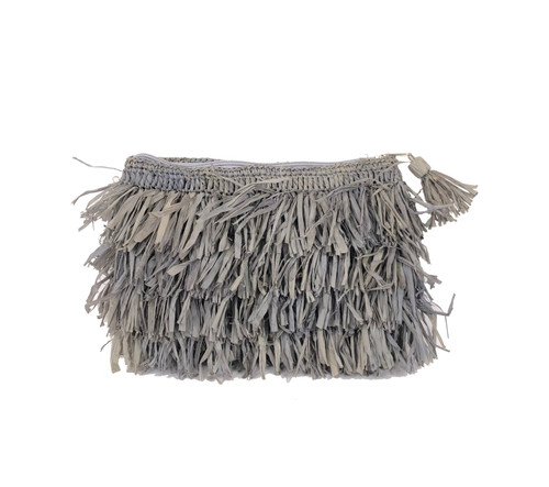Frou Frou Clutch Grey