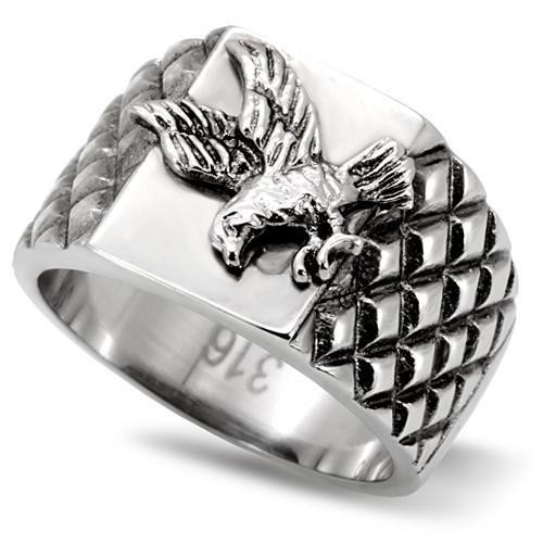 High polished Stainless Steel Eagle Design