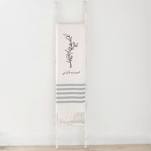 Flourish Wildflower Throw Blanket