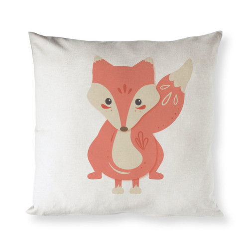 Fox Baby Pillow Cover