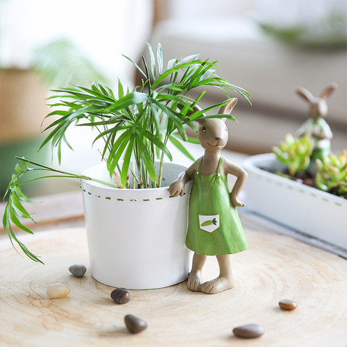 1 Piece Vase Decorative Flower Pot Rabbit