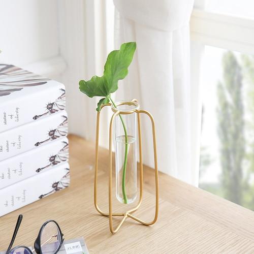 1 Piece Vase for Decoration Tube Vase Metal