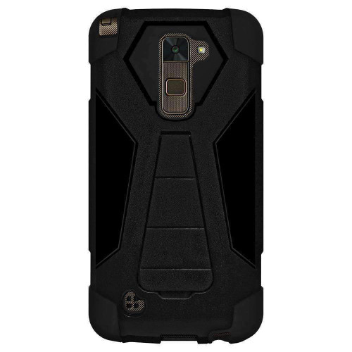 AMZER Dual Layer Hybrid Kickstand Case for LG Stylo 2 Plus