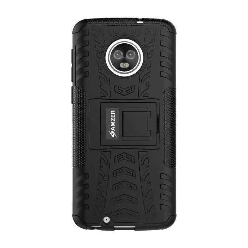 AMZER Shockproof Warrior Hybrid Case for Motorola Moto G6 -