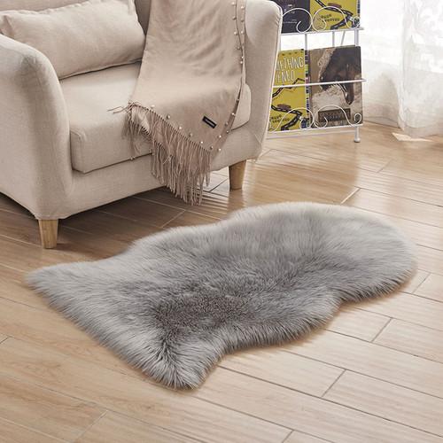 DIDIHOU Soft Artificial Sheepskin Rug Carpet Chair