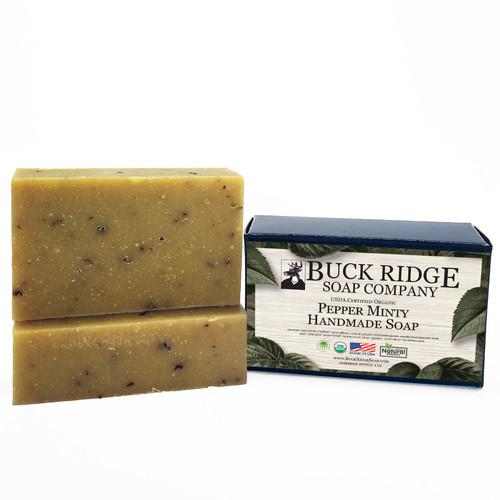 Pepper Minty Men's Handmade Soap