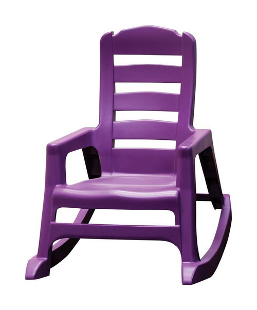 Adams Lil' Easy 1 Bright Violet Polypropylene Stackable  Kid's