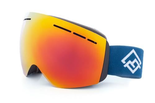 Alpink Ski Goggles - Flame Red