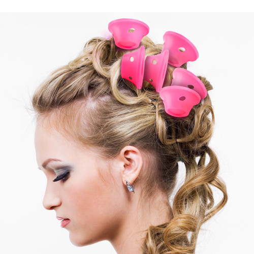 10pc/Pack Hairstyle Soft Hair Care DIY Peco Roll