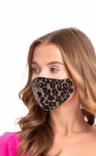 Filter Face Mask Cheetah