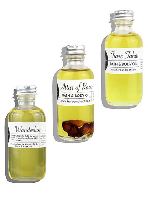 Bath & Body Oils Trio