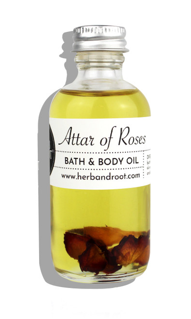 Attar of Roses Bath & Body Oil
