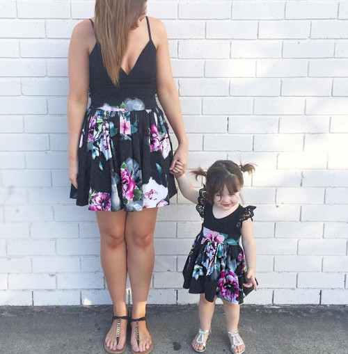 New Family Clothes Lady's Mother Daughter Matching