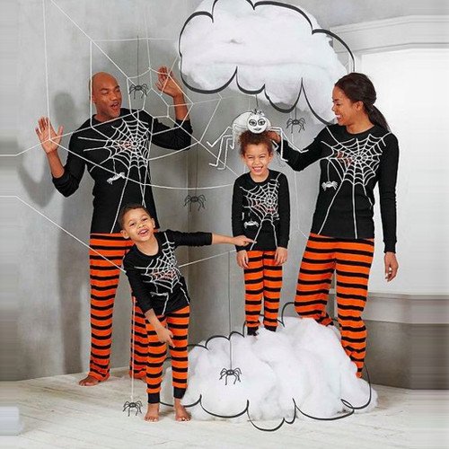 Boy Girl Clothes Sets Halloween Family Matching
