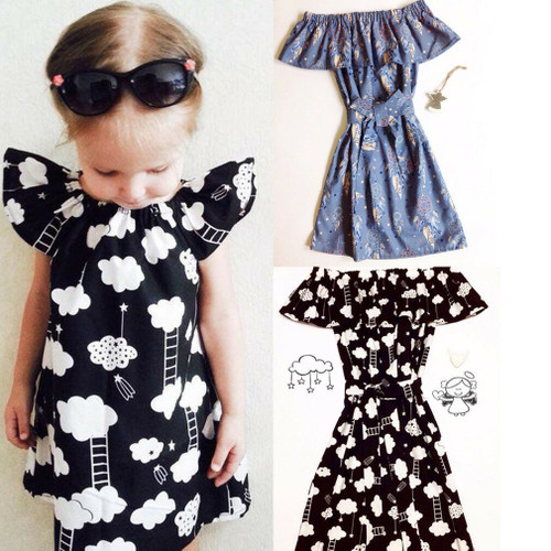 Mother & Daughter Matching Dress Outfit