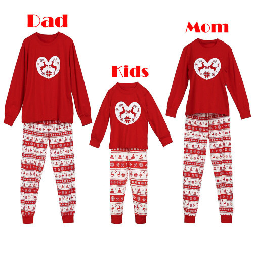 Christmas Family Matching Pjs Set
