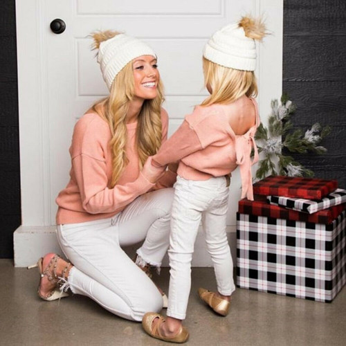 Mother & Daughter Family Matching Outfits - Pink