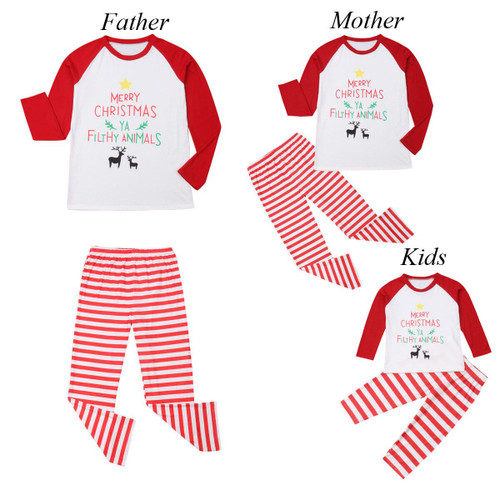 Christmas Family Matching Outfits in a unique Design