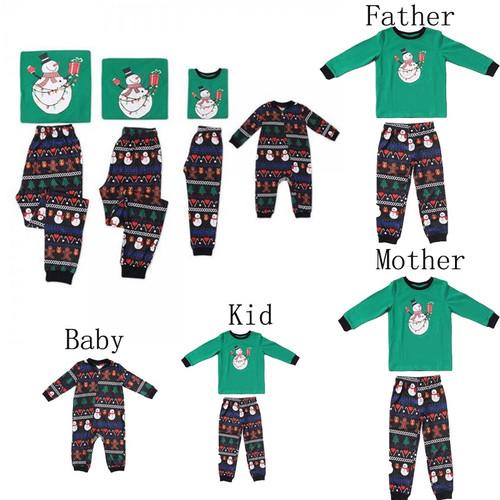 XMAS Family Matching Outfits Pajama Sets
