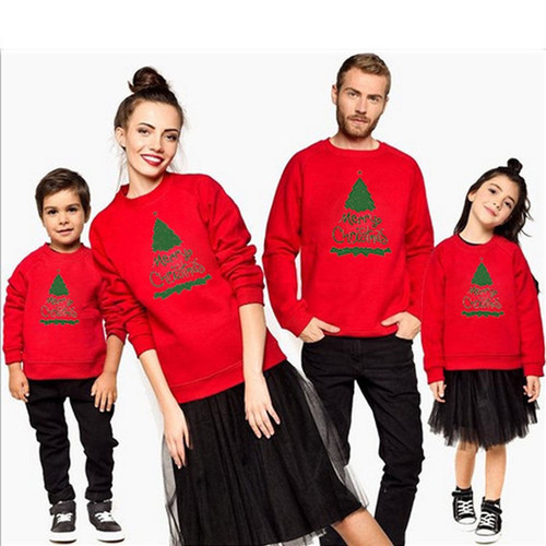 Fashion Christmas Family Matching Outfits Unisex