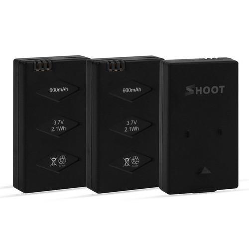 3 in 1 3.7v 600mAh Drone LiPo Battery Set