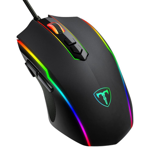 Wired Gaming Mouse 8 Programmable Button 7200 DPI USB