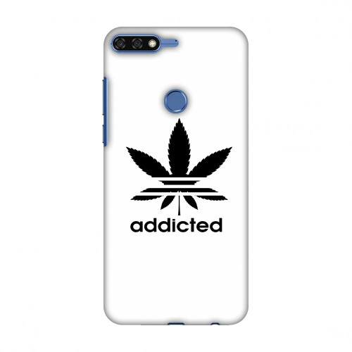 Addicted Slim Hard Shell Case For Huawei Honor 7C