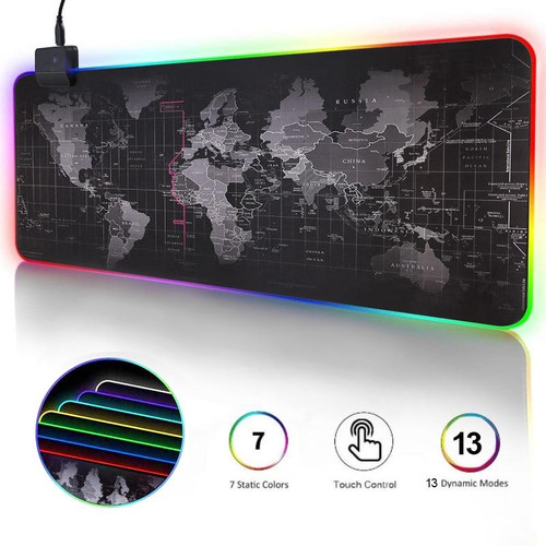 Gaming Mouse Pad RGB Computer Mouse Pad Large Gaming Mousepad XXL