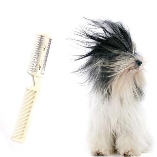 Pet Hair Trimming Razor Grooming Comb Blades