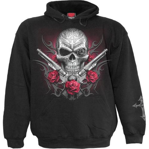DEATH PISTOL - Hoody Black
