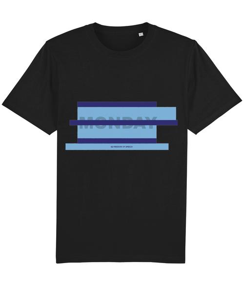 Blue Monday Parallel Lines T-Shirt