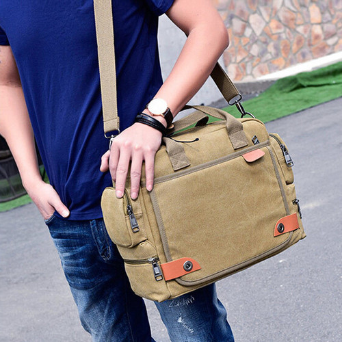 Crossbody Bags for Men Canvas Messenger
