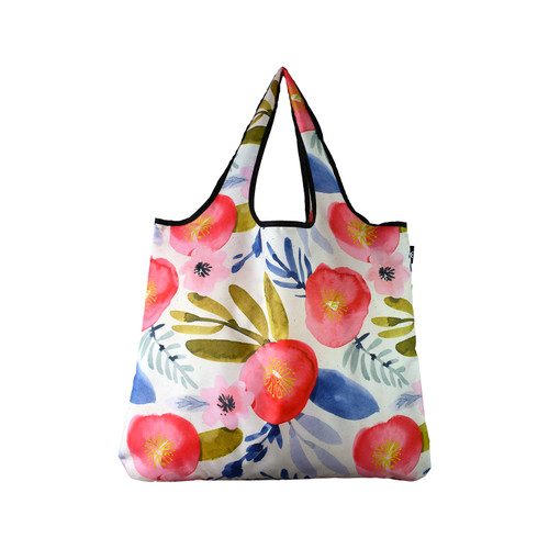 Reusable JUMBO size - Watercolor Floral Tote