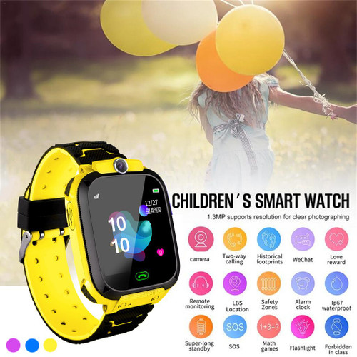 Kids LBS Locator Tracker Smart Watch Telephone SOS
