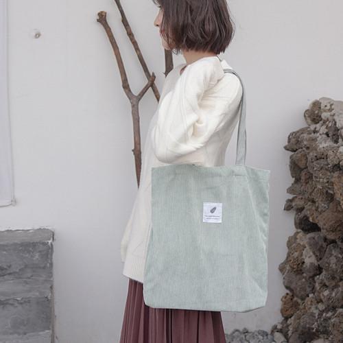 Corduroy Reusable Bag