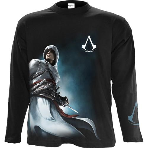ALTAIR SIDE PRINT - Assassins Creed Longsleeve Black