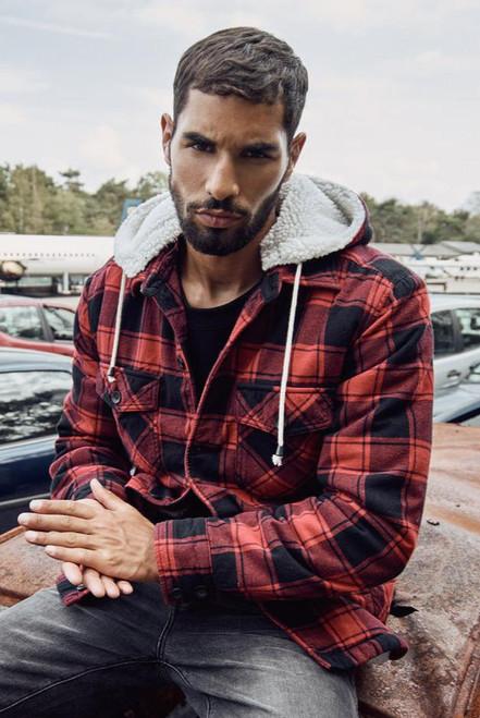 Hooded Lumber Jacket