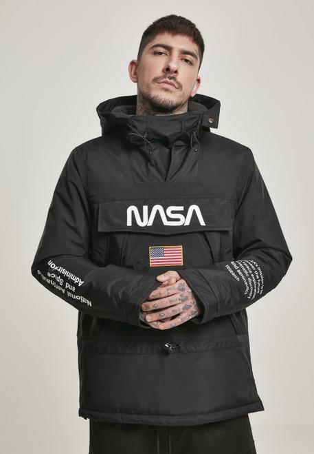 NASA Black Windbreaker