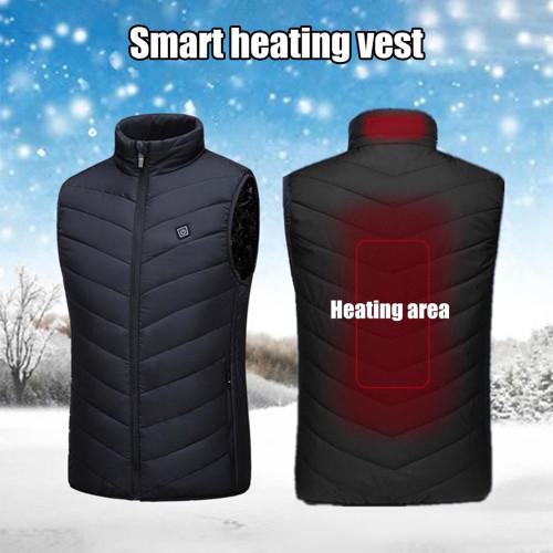 Heating Vest Washable USB Charging Heating Warm