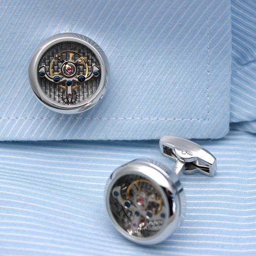 Automatic Watch Engine Cufflinks