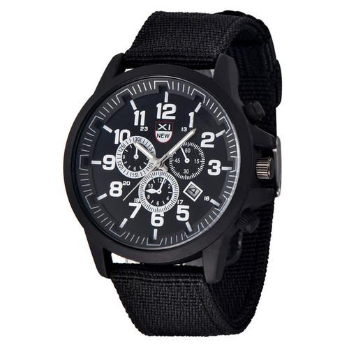 Amazing Outdoor Men's Date Stainless Steel Watch