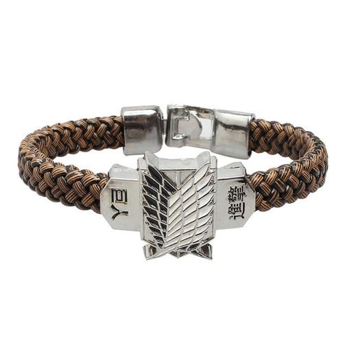 Anime Attack on Titan Bracelet Men Wristband