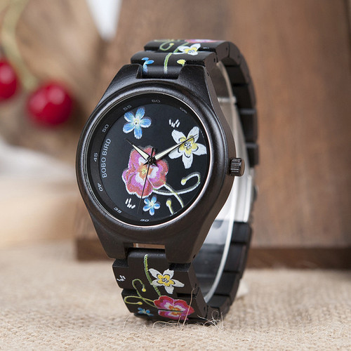 Fashionable Embroidery Series Women's Watch