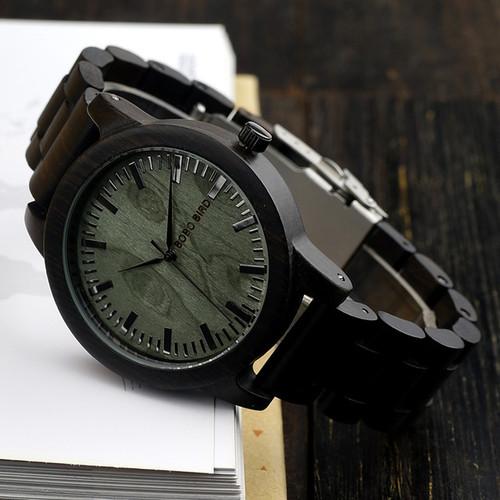 Wooden Men's Watch Analog Quartz