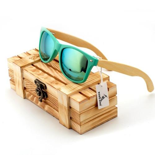 Fashion Polarized Eyewear Items Sunglasses Bamboo
