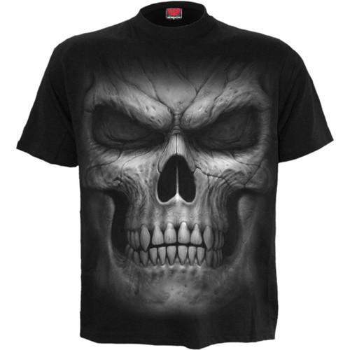 SHADOW MASTER - Front Print T-Shirt Black