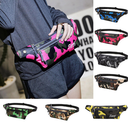Fashion Unisex Camouflage Waist Bag