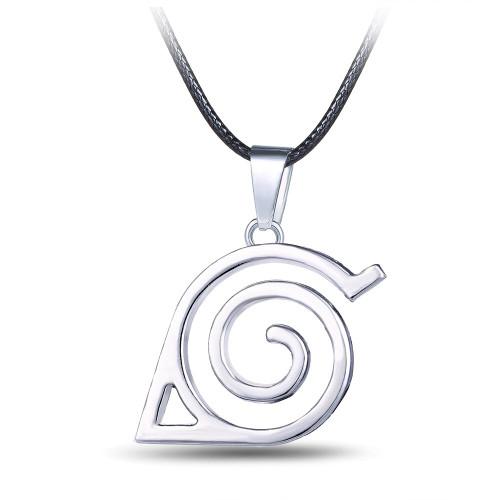 Naruto Necklaces & Pendants Men's Necklace Silver