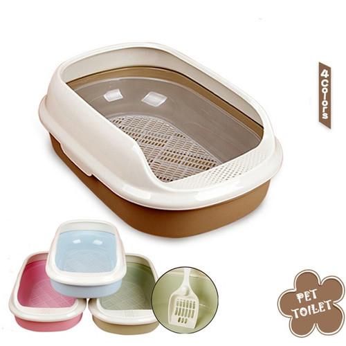 Pet Cat Toilets Litter Box Durable Cats Bedpans