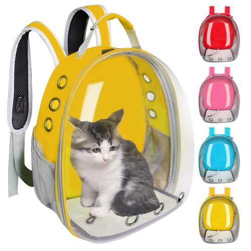 Breathable Pet Cat Carrier Bag Transparent Space